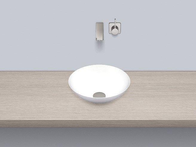 Dish basin from glazed steel SB.K360.GS - ALAPE