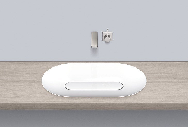 Dish basin from glazed steel SB.O700.GS - ALAPE