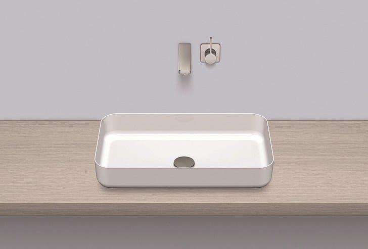 Dish basin from glazed steel SB.SR650 - ALAPE