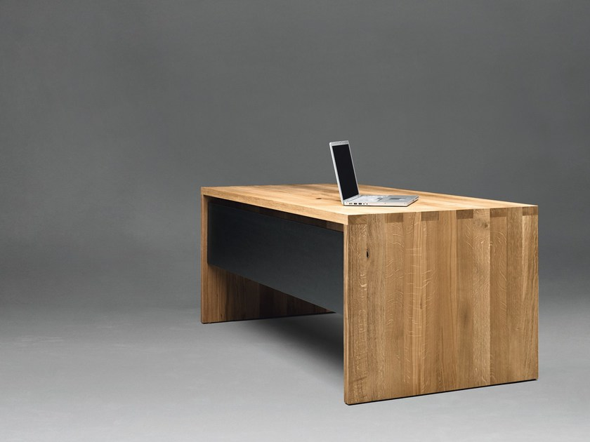 Rectangular solid wood table SC01 | Solid wood table - Janua