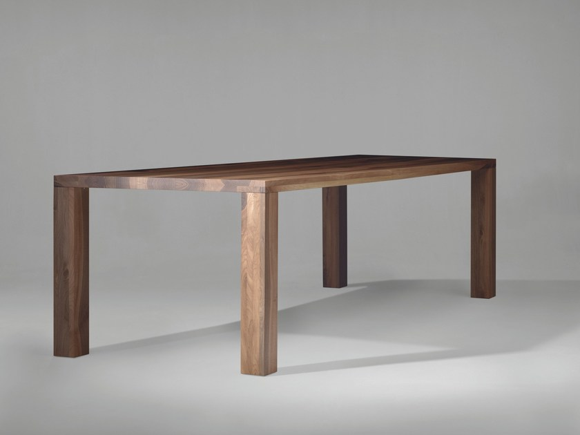 Rectangular wooden dining table SC34 - Janua