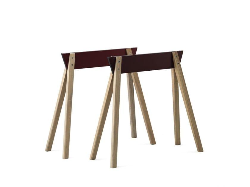 Cavalletto in legno sc45 janua - Cavalletti in legno per tavoli ...