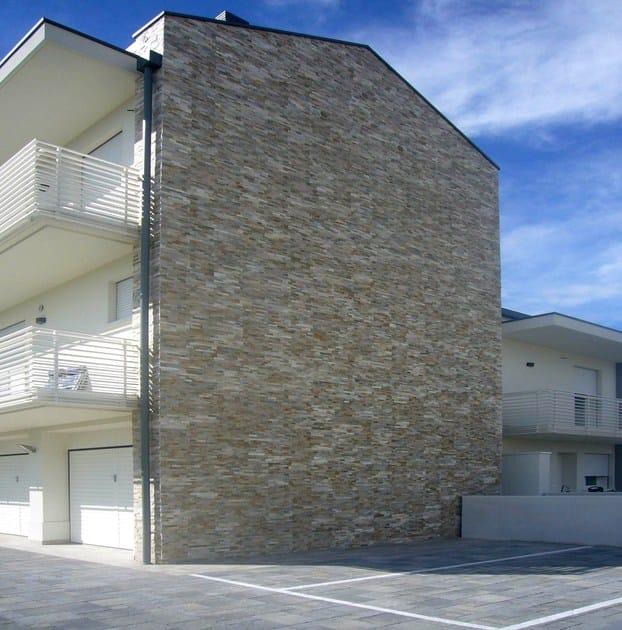 Scaglia revestimiento de pared de piedra natural by b b - Revestimiento fachadas piedra ...