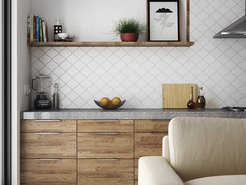 White-paste wall tiles SCALE | Wall tiles by EQUIPE CERAMICAS