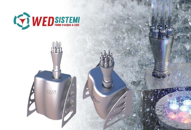 Metal Fountain SCENE CREATOR AIR | Fountain by WED