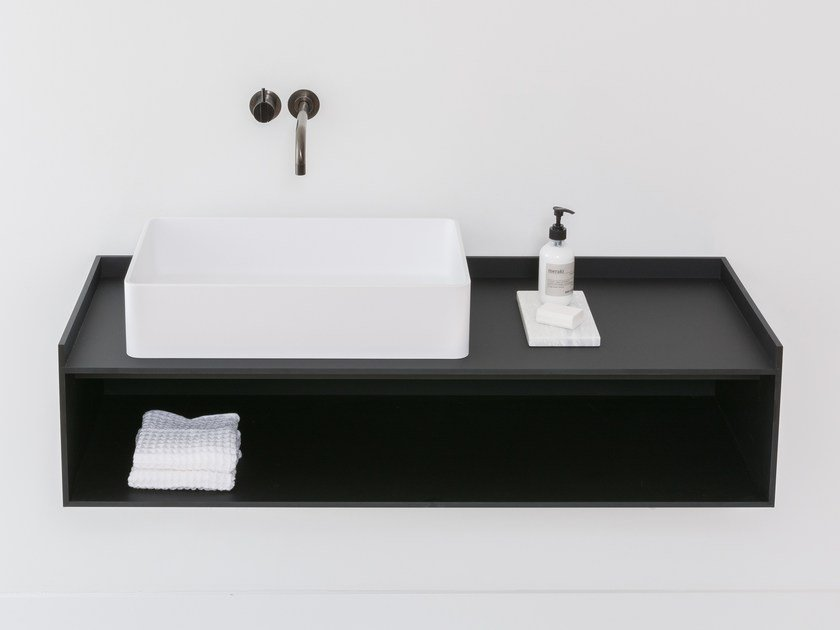 Wall-mounted vanity unit SCENE - Not Only White