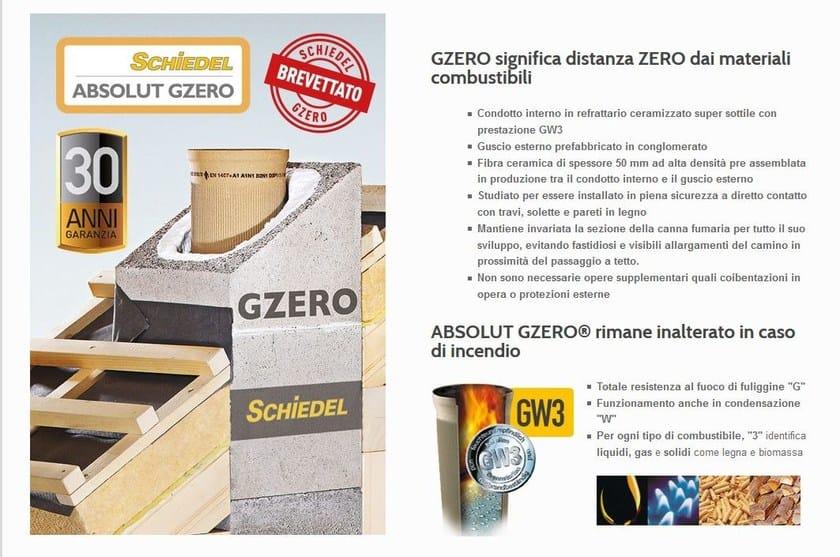 Soluzione per il passaggio canna fumaria a tetto schiedel for Finestre velux bolzano
