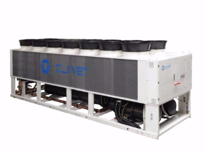 Water refrigeration unit with free-cooling SCREWLine³ WDAT-SL3 FC - Clivet