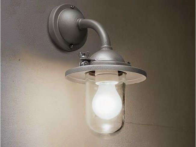 Iron wall lamp with fixed arm SCUDERIA | Wall lamp - Aldo Bernardi