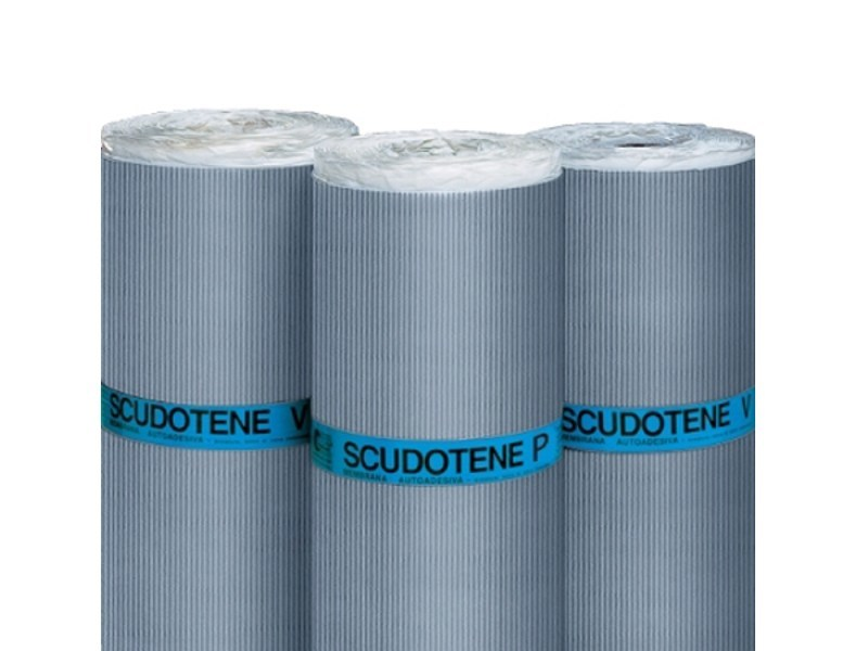 Self-adhesive membrane SCUDOTENE - ITALIANA MEMBRANE -TECHNONICOL ITALIA