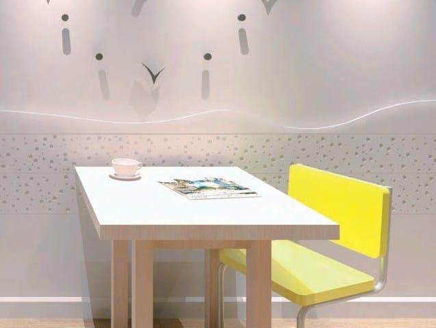 Indoor gypsum wall tiles SD7045 «LUNA PARK» - Staff Décor