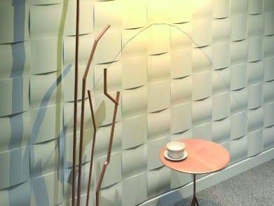 Modular indoor gypsum 3D Wall Tile SD7046 «VEME AVENUE» - Staff Décor