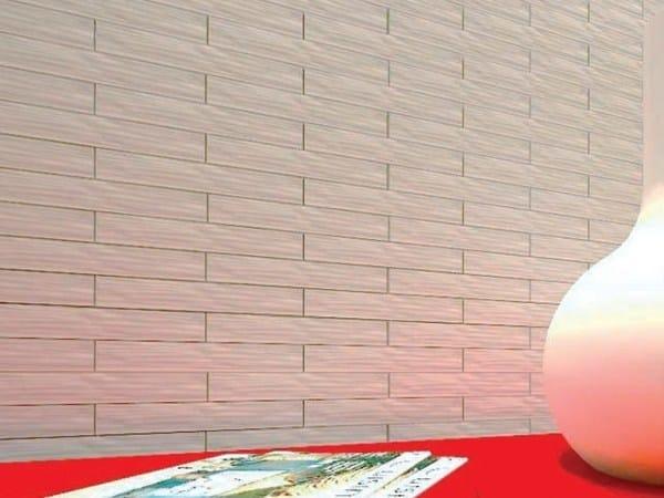 Indoor gypsum wall tiles with brick effect SD7056 «QUEENS» - Staff Décor
