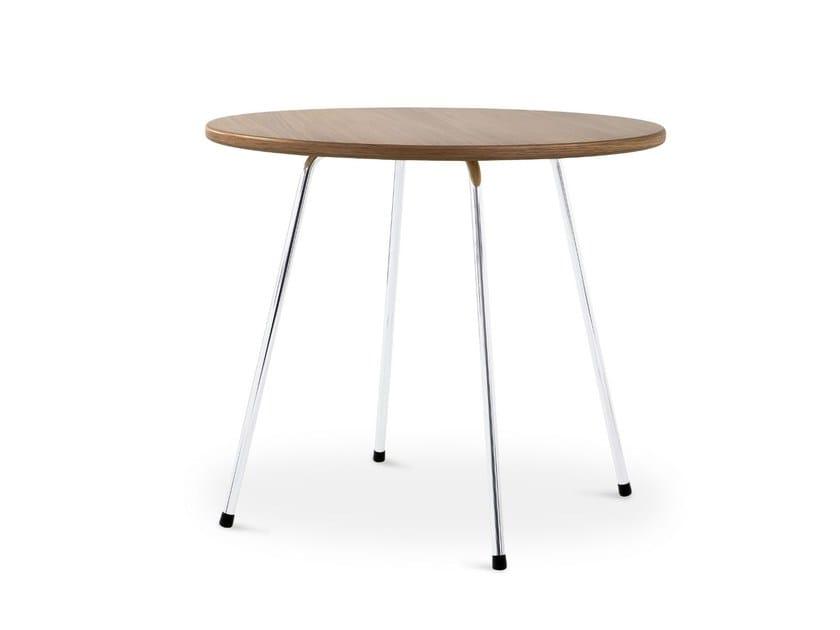 Round wooden table SE 330 | Table - WILDE+SPIETH Designmöbel