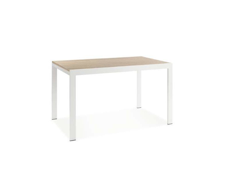 Extending rectangular laminate table SEA - CREO Kitchens by Lube