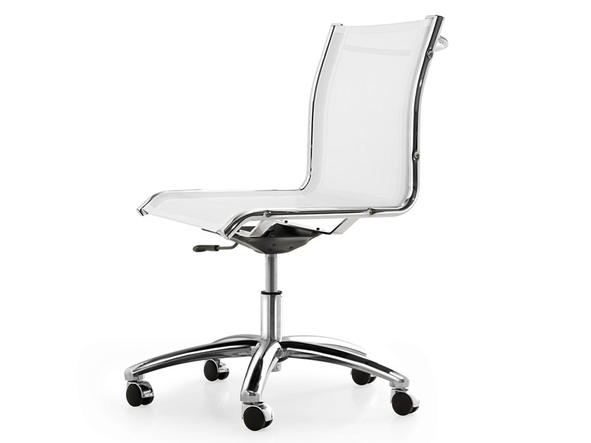 Height-adjustable mesh task chair with 5-Spoke base with casters SEASON NET | Height-adjustable task chair - Quinti Sedute