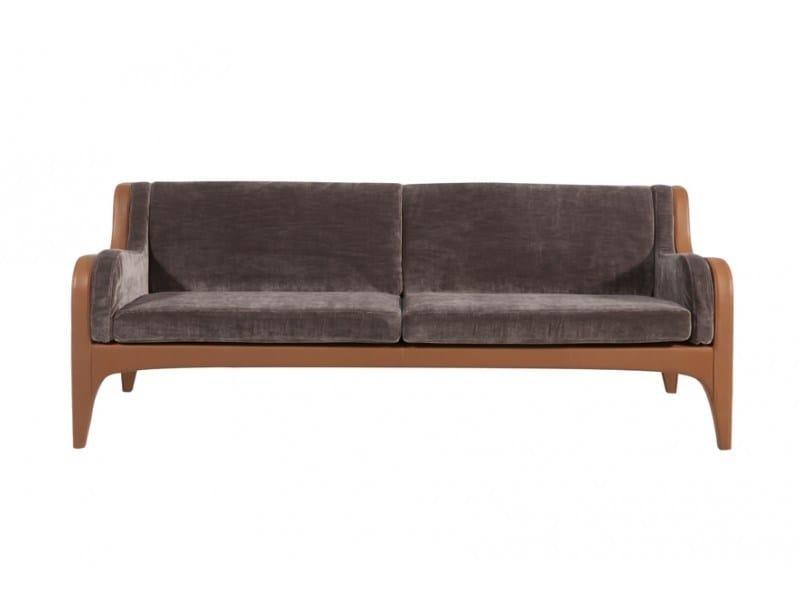 3 seater suede sofa SEASON | Suede sofa - Canapés Duvivier