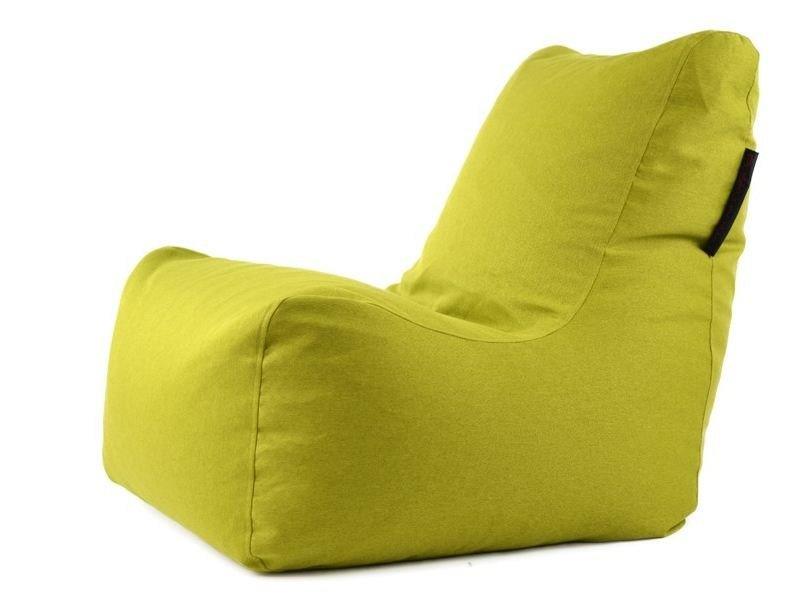 Fabric bean bag with removable cover SEAT NORDIC by Pusku pusku