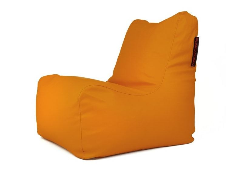 Upholstered imitation leather bean bag SEAT SKIN OUTSIDE - Pusku pusku