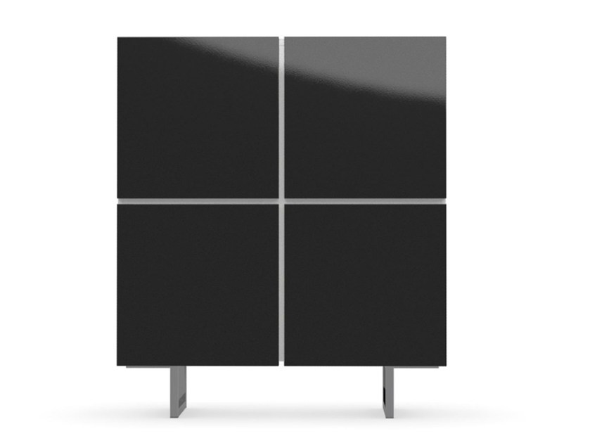 Lacquered highboard with doors SEATTLE | Highboard - Calligaris