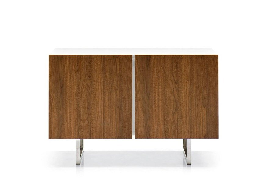 Lacquered sideboard with doors SEATTLE | Sideboard - Calligaris