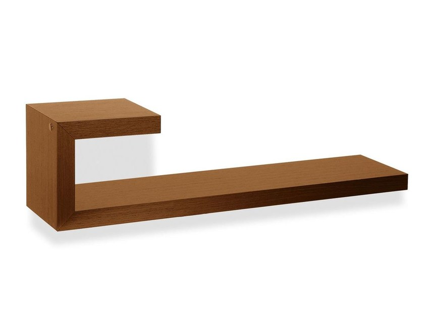 Wooden wall shelf SEATTLE | Wall shelf by Calligaris