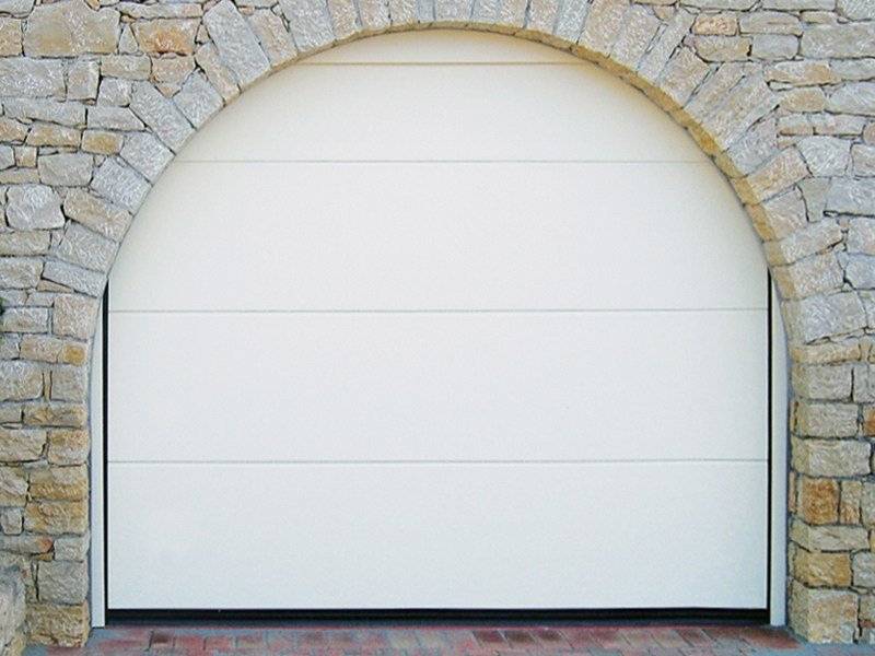 Sectional garage door SECTOR 2 - DE NARDI