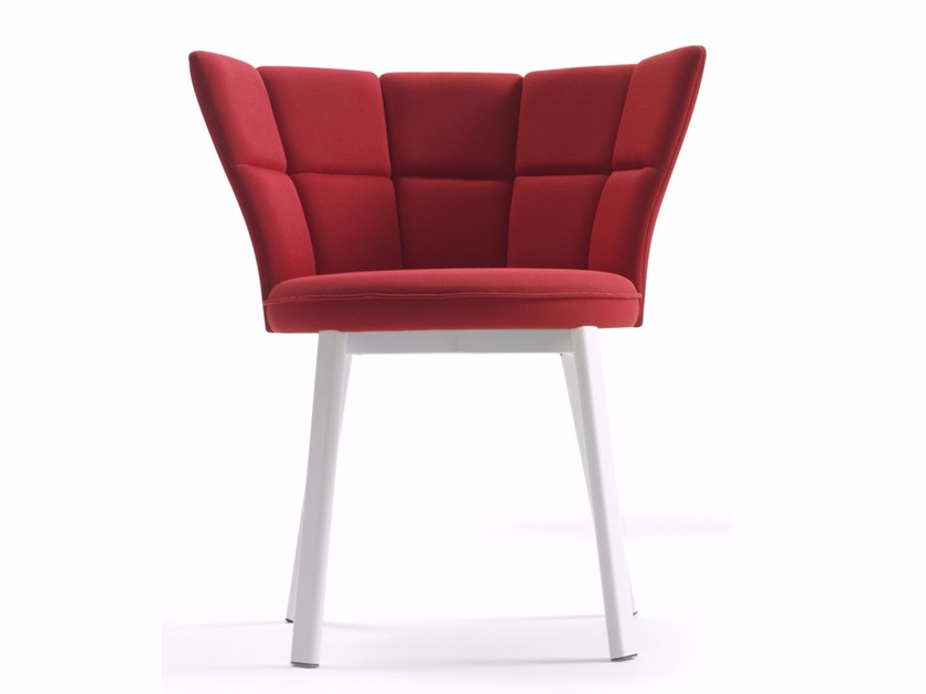 Upholstered restaurant chair SECTOR | Upholstered chair - Debi