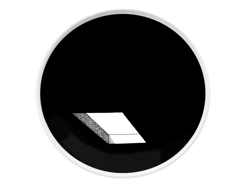 Ceramic dinner plate SEE - Kiasmo