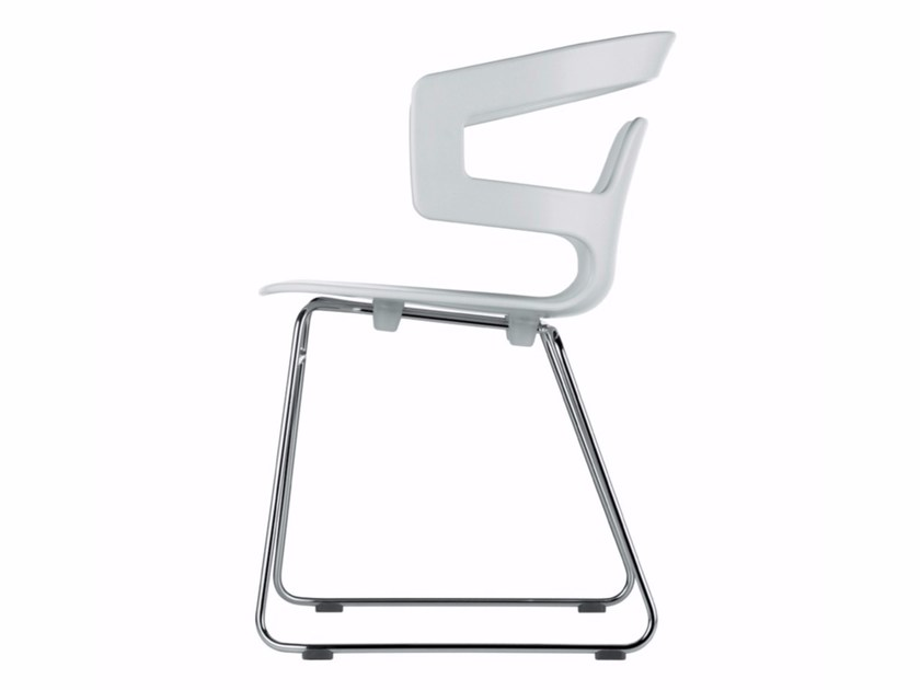 Sled base stackable chair SEGESTA CHAIR - 501 - Alias
