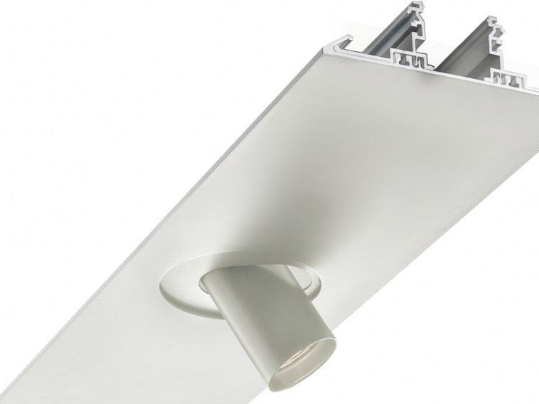 Aluminium Linear lighting profile for downlights SEGMENT | Linear lighting profile for downlights by LUCIFERO'S