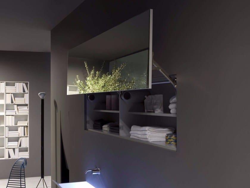 Specchio con contenitore per bagno SEGRETO - Antonio Lupi Design