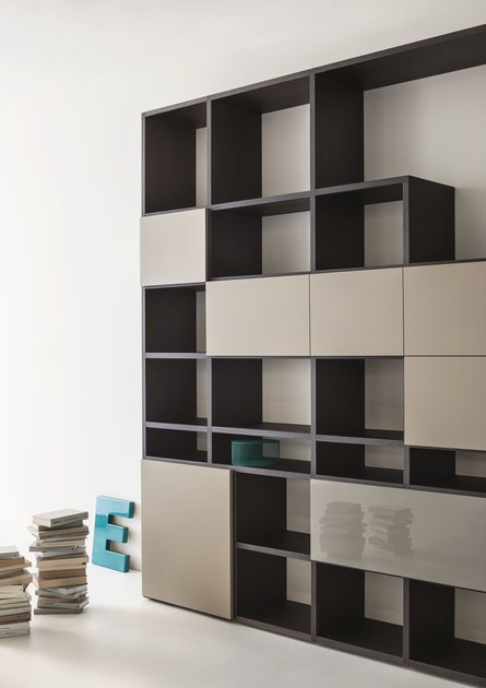 Librer a composable modular a medida selecta by lema for Lema muebles