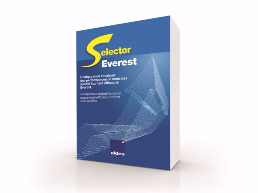 Software for home and building automation SELECTOR EVEREST - ALDES