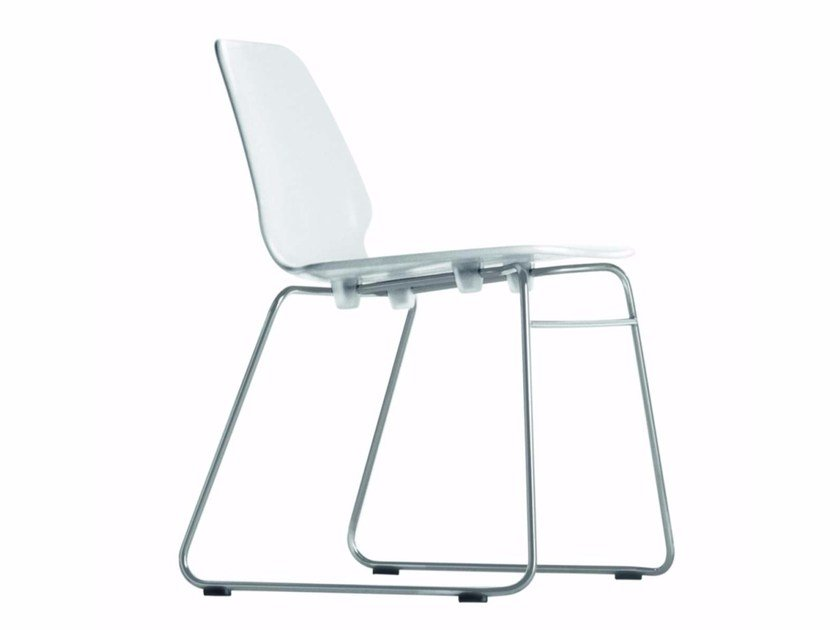Sled base stackable chair SELINUNTE CHAIR - 531 - Alias