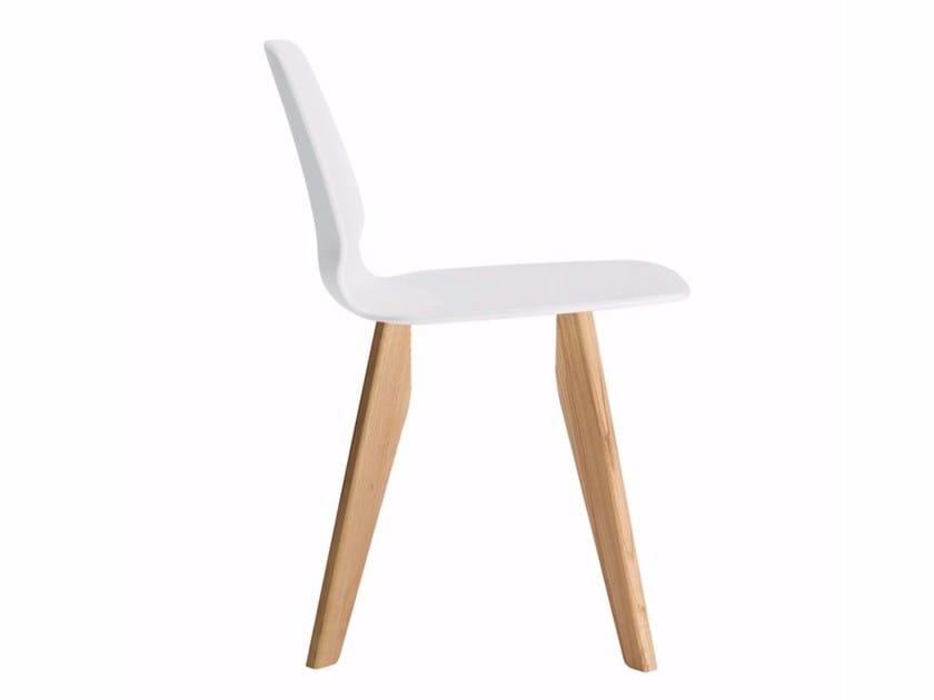 Chair SELINUNTE WOOD - 561 - Alias