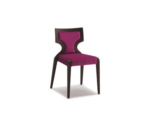 Stackable fabric chair SENDY | Fabric chair - CIZETA