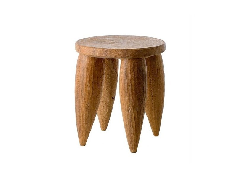 Wooden stool SENOFO | Wooden stool - Pols Potten