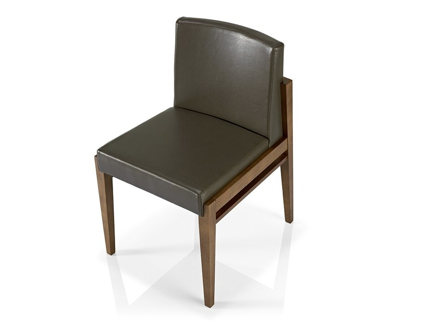 Leather chair SERENA | Chair by JMS