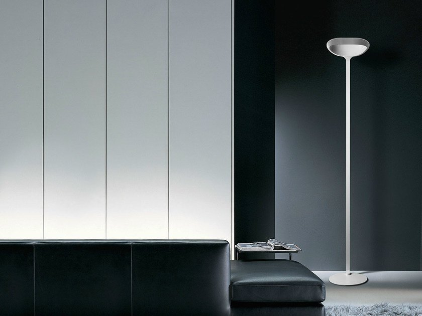 indirect light halogen floor lamp sestessa terra alogena by - Halogen Floor Lamp