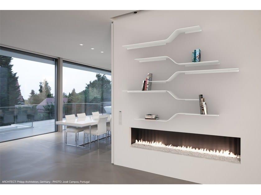 Powder coated aluminium wall shelf SET 12 - VIDAME CREATION