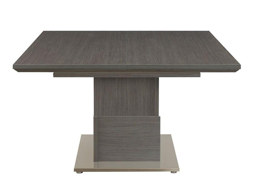 tavolo allungabile quadrato setis tavolo quadrato. Black Bedroom Furniture Sets. Home Design Ideas