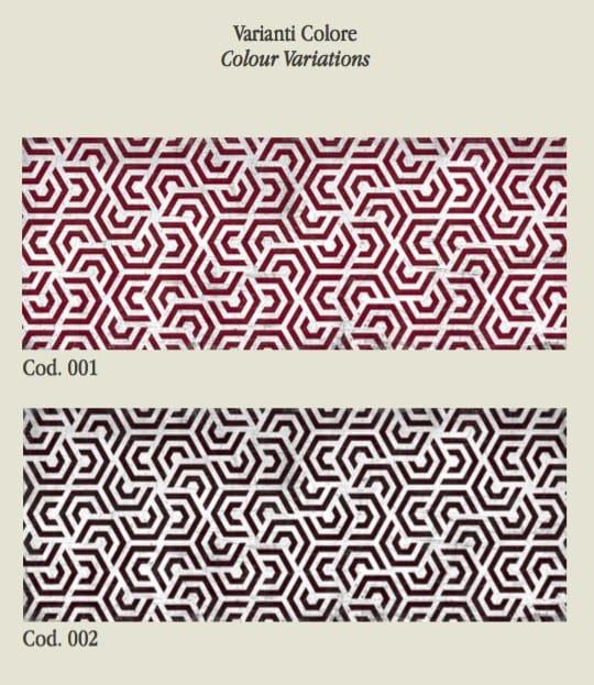 Tessuto da parati in fibra di vetro sev 11 collezione for Carta da parati in fibra di vetro