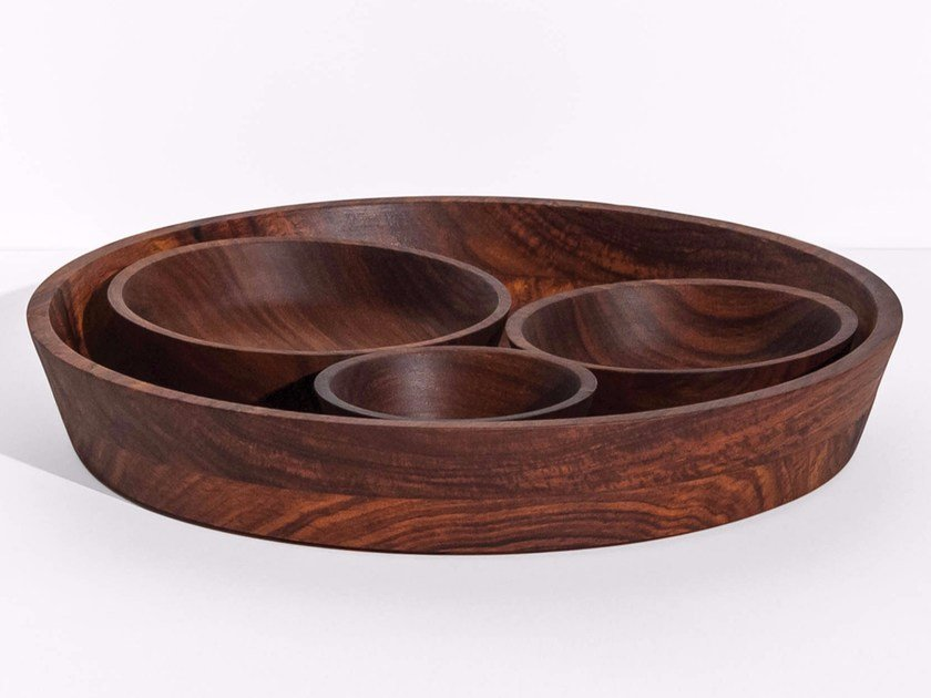 Set of bowls in wood SEVA - Tiipoi