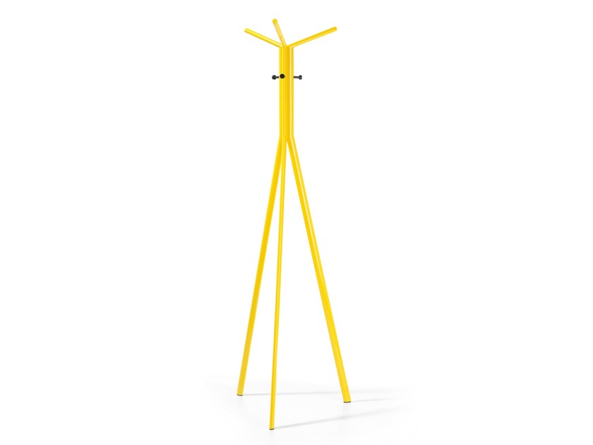 Steel coat stand SEVEN by profim
