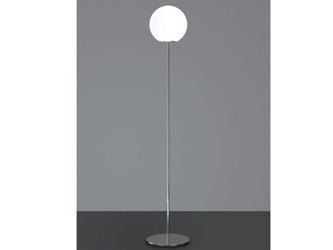 Glass floor lamp SFERIS   Floor lamp - Ailati Lights