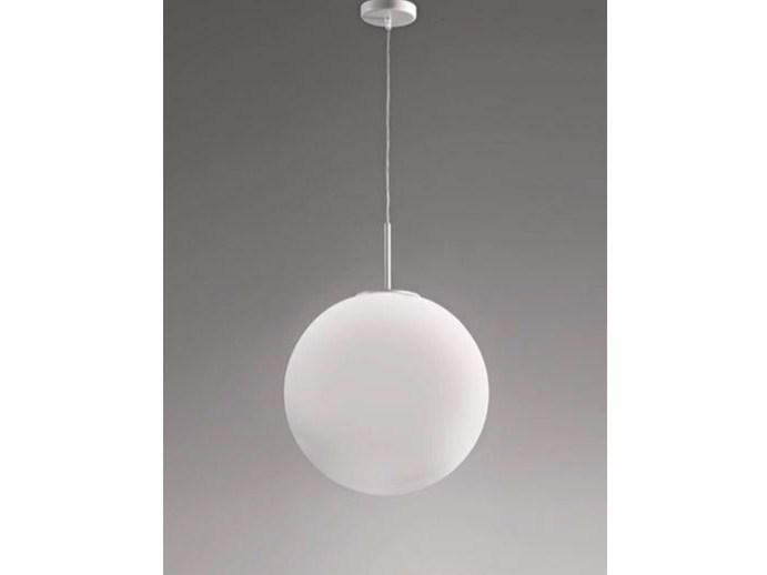 Glass pendant lamp SFERIS | Pendant lamp - Ailati Lights