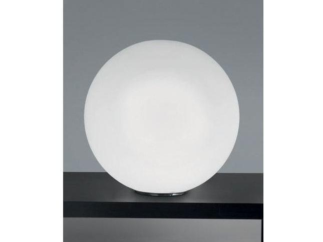 Glass table lamp SFERIS   Table lamp - Ailati Lights