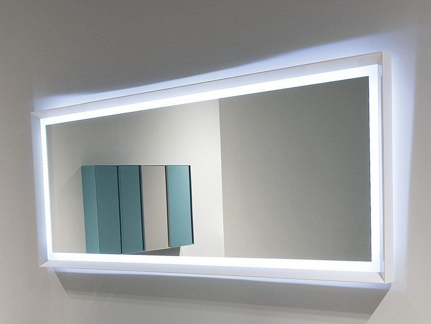 Design rectangular mirror SFOGLIA - Antonio Lupi Design®