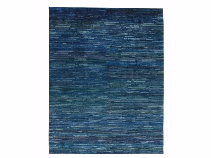 Solid-color silk rug SHADES OF SILK by miinu
